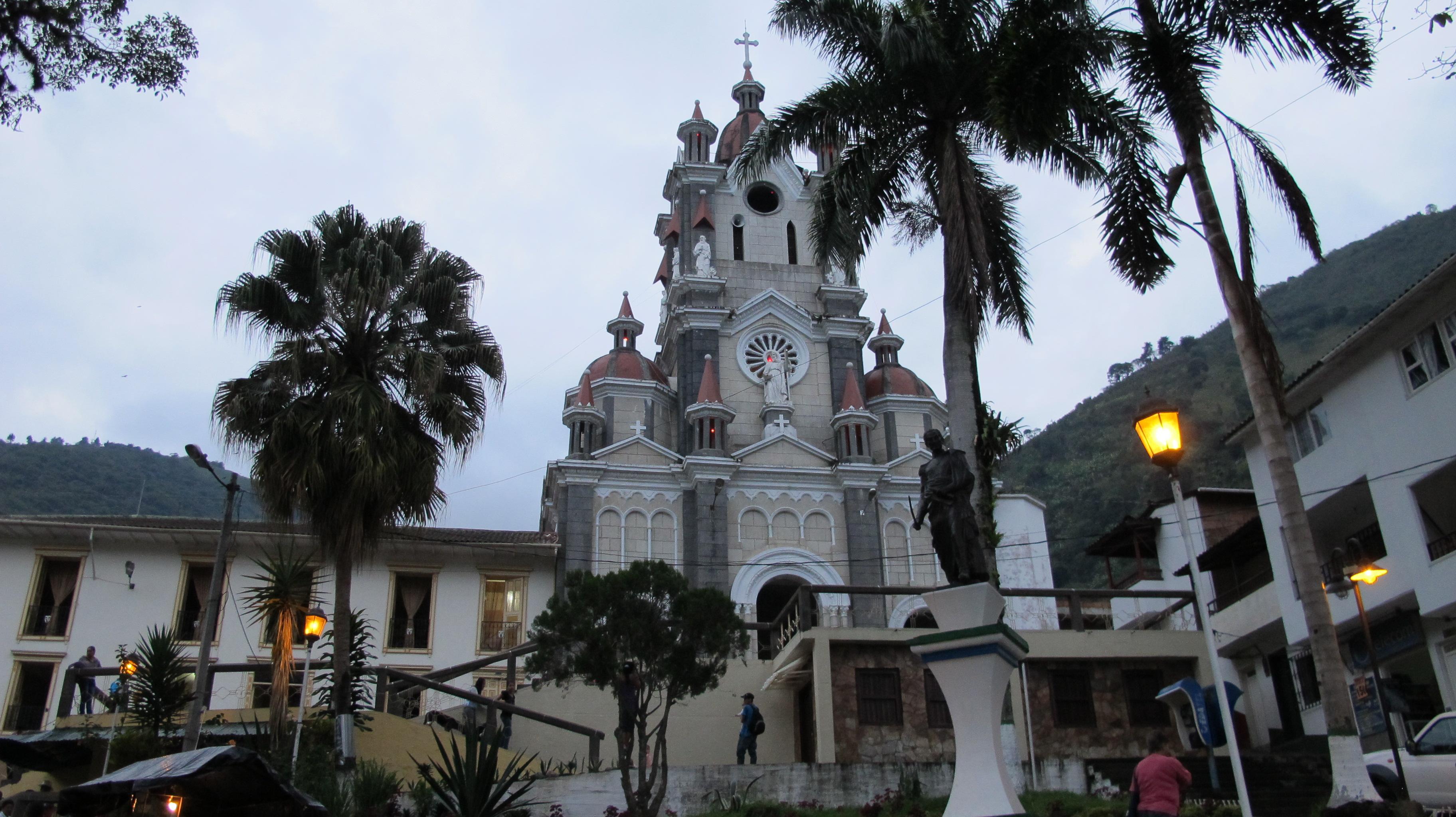 Iglesia principal del municipio de San Andrés de Cuerquia